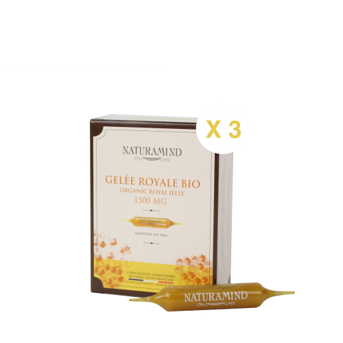 Gelée Royale BIO 1500mg x 3